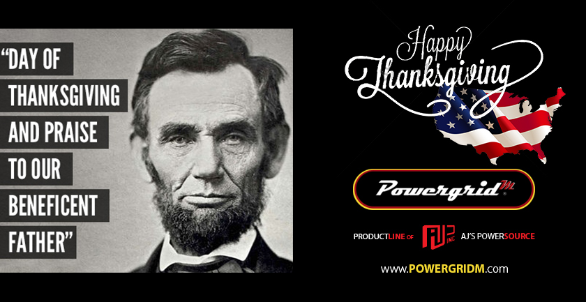 Thanksgiving Day – Powergridm – Power Supply News