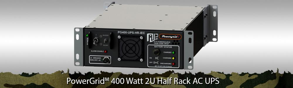 Half Rack UPS | Half Rack Uninterruptible Power Supply, Military Half Rack UPS, Ruggedized Half Rack UPS, Tactical Half Rack UPS